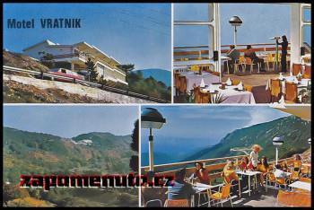 motel vratnik - pohlednice